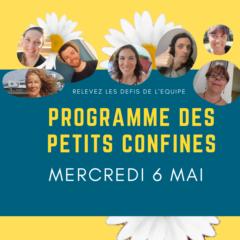 Protégé: Les petits confinés : programme du Mercredi 6 Mai